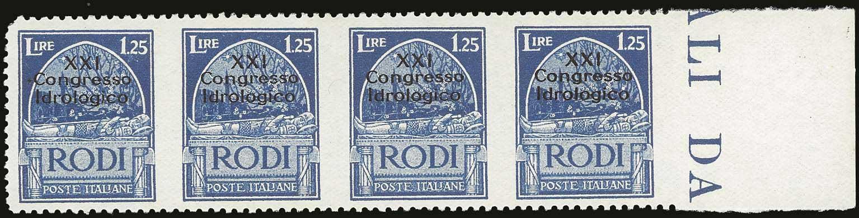 Lot 1359 - -  DODECANESE italian dodecanese - italian post office issues -  A. Karamitsos Auction 667 WEB Philatelic Auction