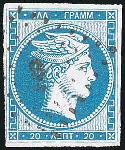 Lot 5019 - -  LARGE HERMES HEAD 1861 paris print -  A. Karamitsos Public & Live Bid Auction 642 (Part A)