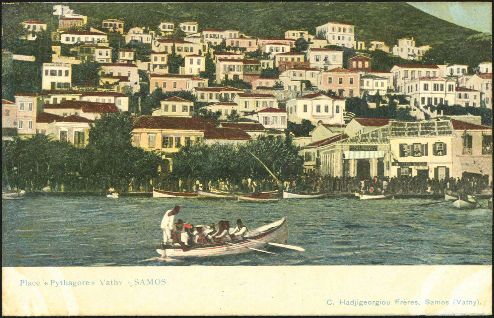 Lot 1427 - -  PICTURE POSTCARDS aegean islands (north and east) -  A. Karamitsos Public Auction 648 General Stamp Sale