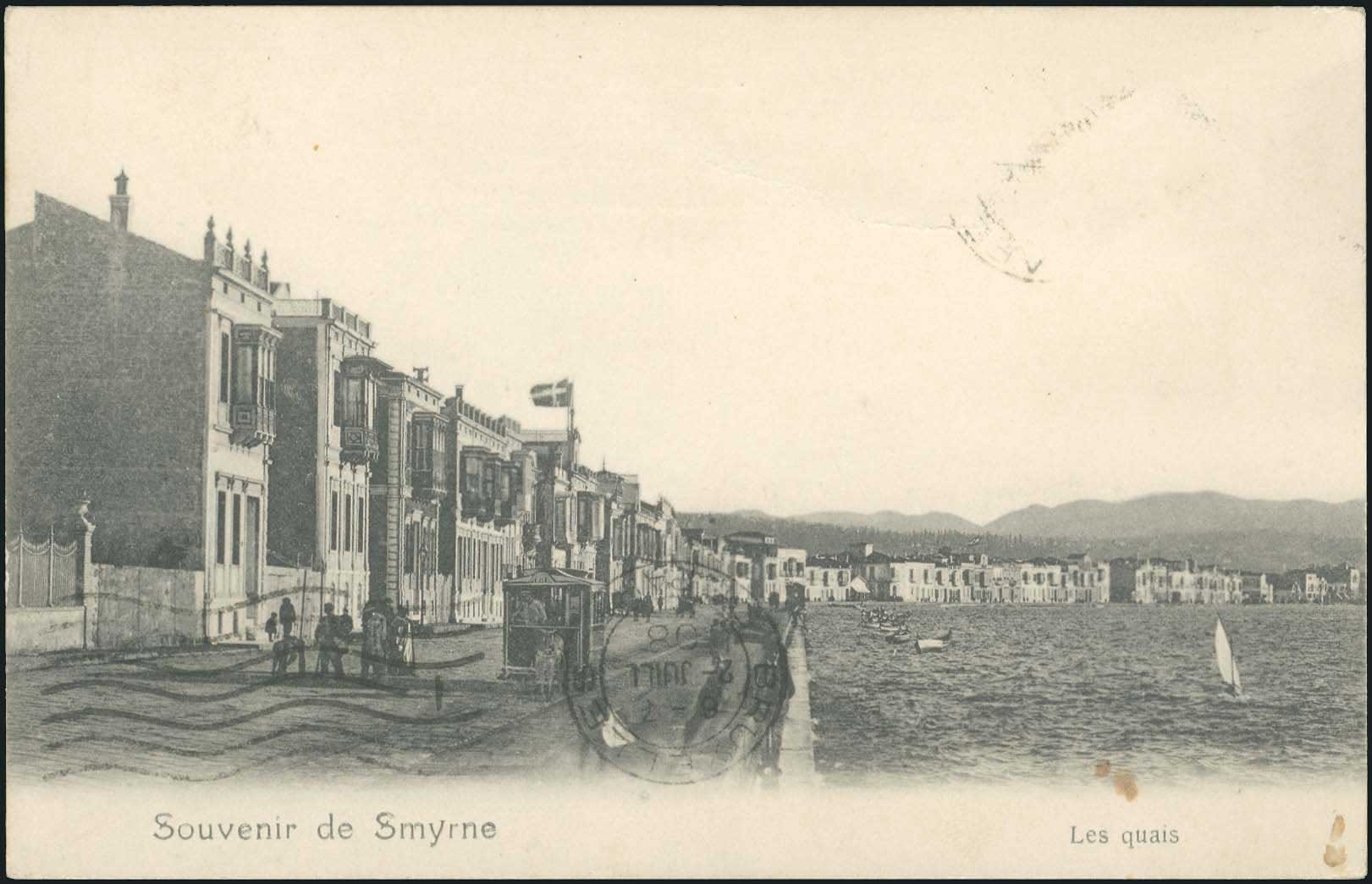 Lot 1593 - picture postcards SMYRNE, CONSTANTINOPLE, ASIA MINOR -  A. Karamitsos Postal & Live Internet Auction 680 General Philatelic Auction