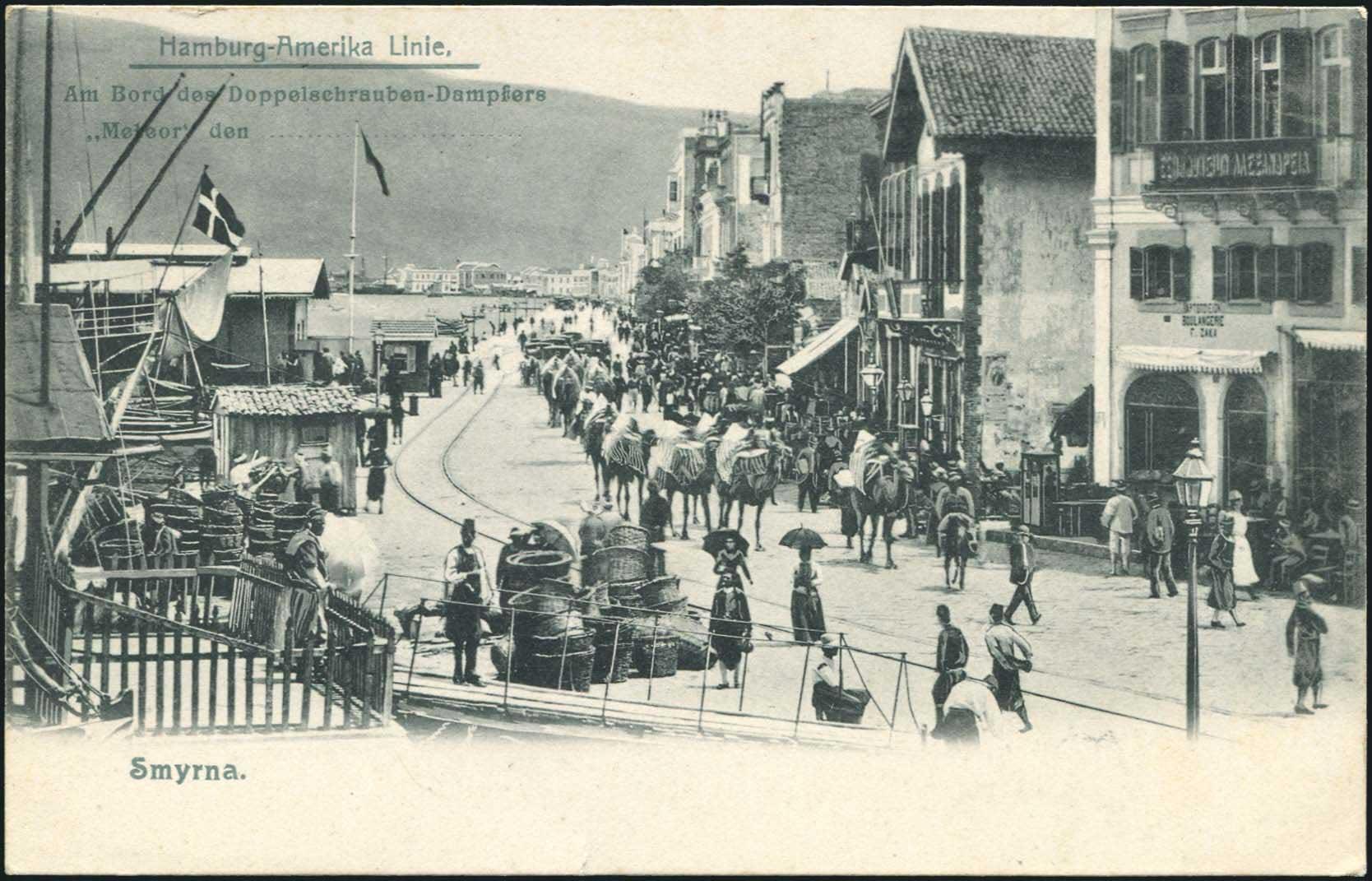 Lot 1984 - -  PICTURE POSTCARDS SMYRNE, CONSTANTINOPLE, ASIA MINOR -  A. Karamitsos Public & Live Internet Auction 673