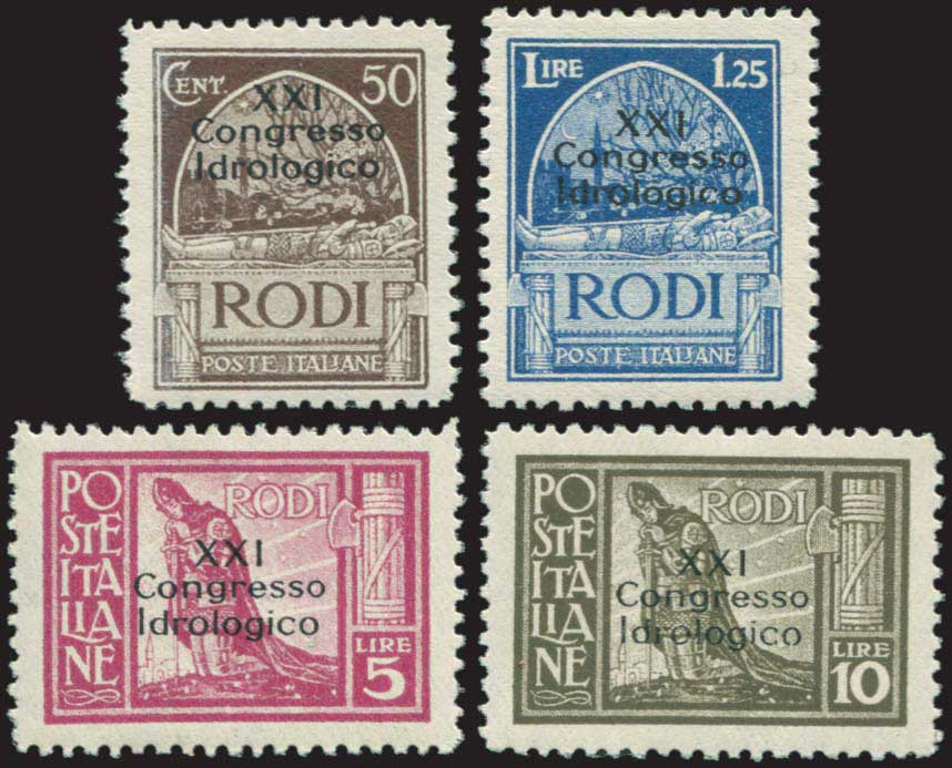 Lot 676 - Dodecanese italian dodecanese - italian post office issues -  A. Karamitsos Public & Live Internet Auction 672