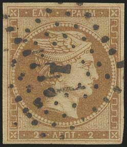 Lot 5009 - -  LARGE HERMES HEAD 1861 paris print -  A. Karamitsos Public & Live Bid Auction 642 (Part A)