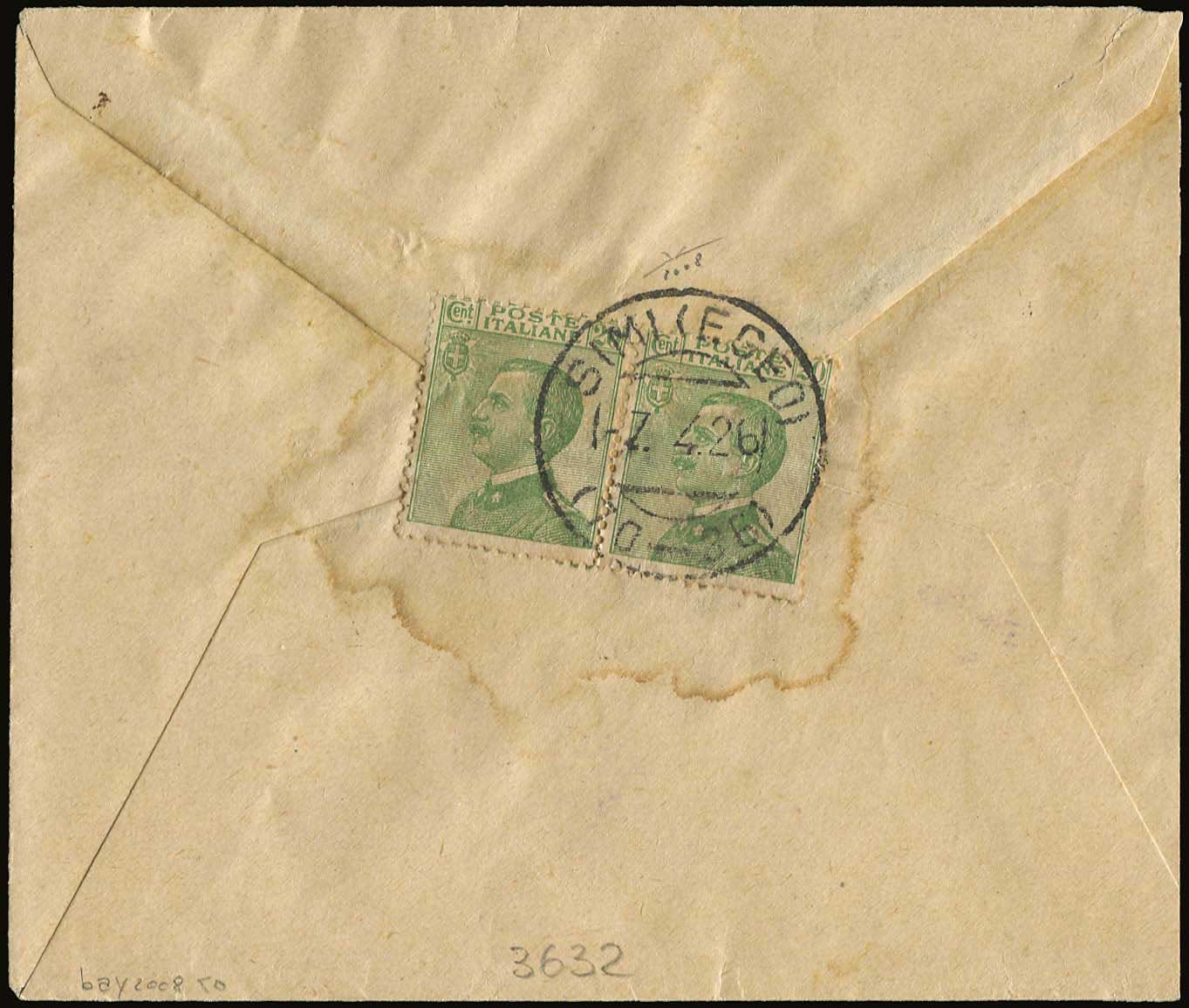 Lot 630 - -  DODECANESE italian dodecanese - italian post office issues -  A. Karamitsos Postal & Live Internet Auction 678 General Philatelic Auction