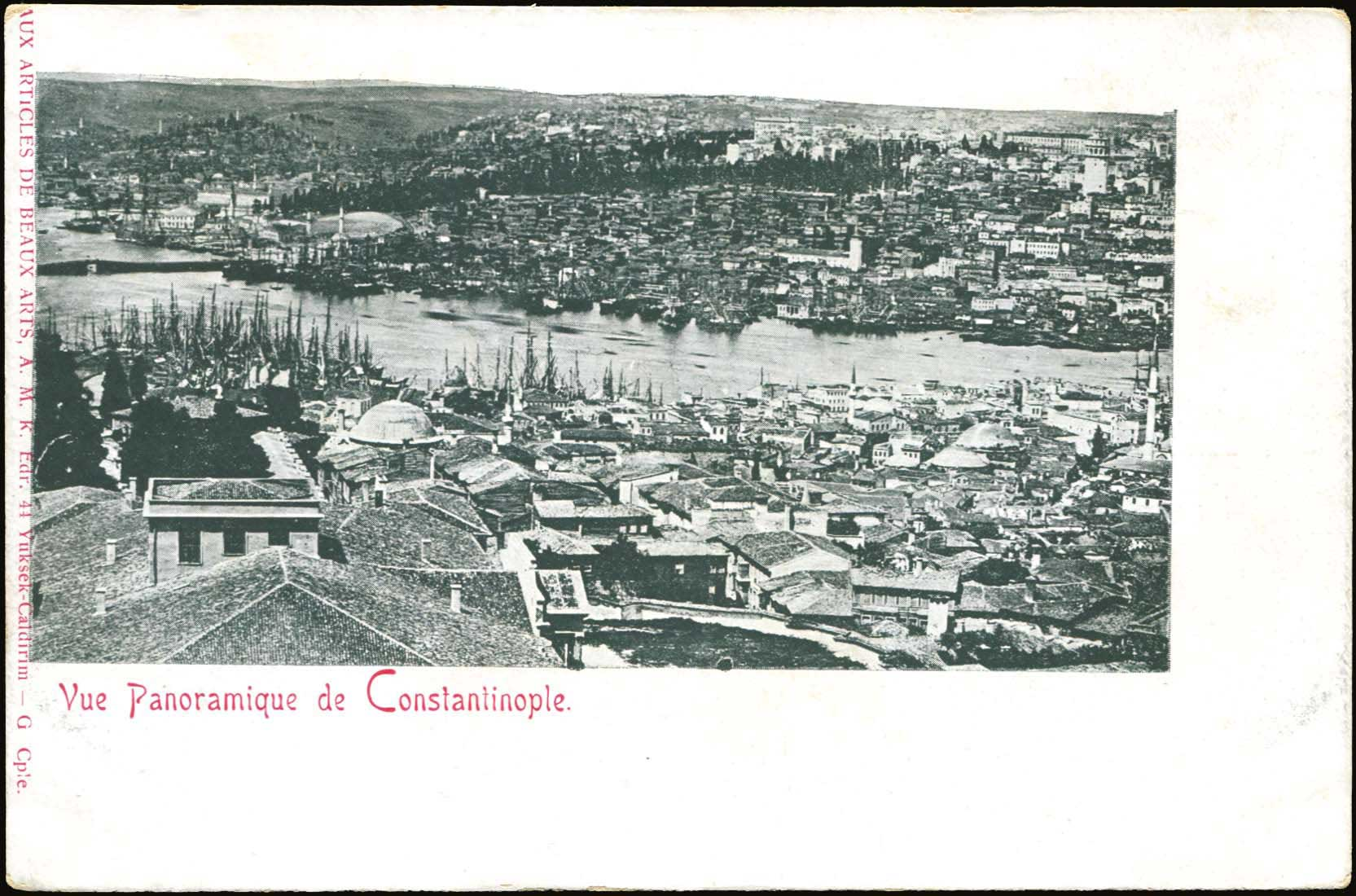 Lot 1540 - -  PICTURE POSTCARDS SMYRNE, CONSTANTINOPLE, ASIA MINOR -  A. Karamitsos Public & Live Internet Auction 683
