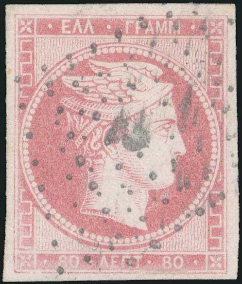 Lot 5025 - -  LARGE HERMES HEAD 1861 paris print -  A. Karamitsos Public & Live Bid Auction 642 (Part A)