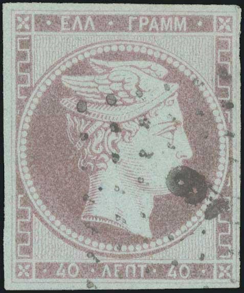 Lot 5022 - -  LARGE HERMES HEAD 1861 paris print -  A. Karamitsos Public & Live Bid Auction 642 (Part A)