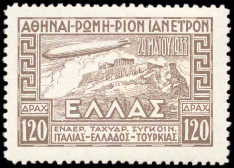 Lot 3804 - -  AIR-MAIL ISSUES Air-mail issues -  A. Karamitsos Postal & Live Internet Auction 663 (Part B) General Philatelic Auction