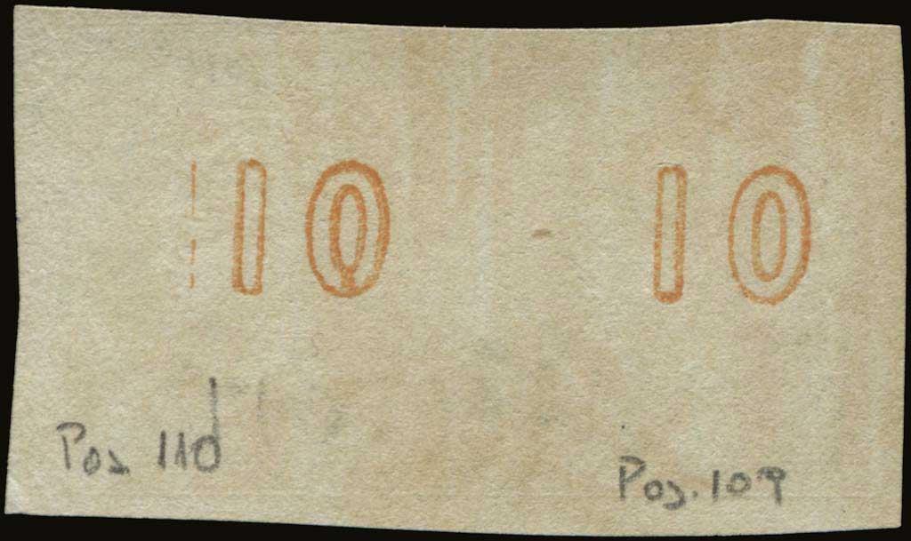 Lot 120 - -  LARGE HERMES HEAD 1867/1869 cleaned plates. -  A. Karamitsos Postal & Live Internet Auction 677