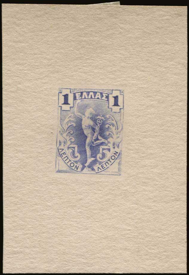 Lot 418 - -  1901/02 FLYING MERCURY & A.M. 1901/02 FLYING MERCURY & A.M. -  A. Karamitsos Public Auction 639 General Stamp Sale