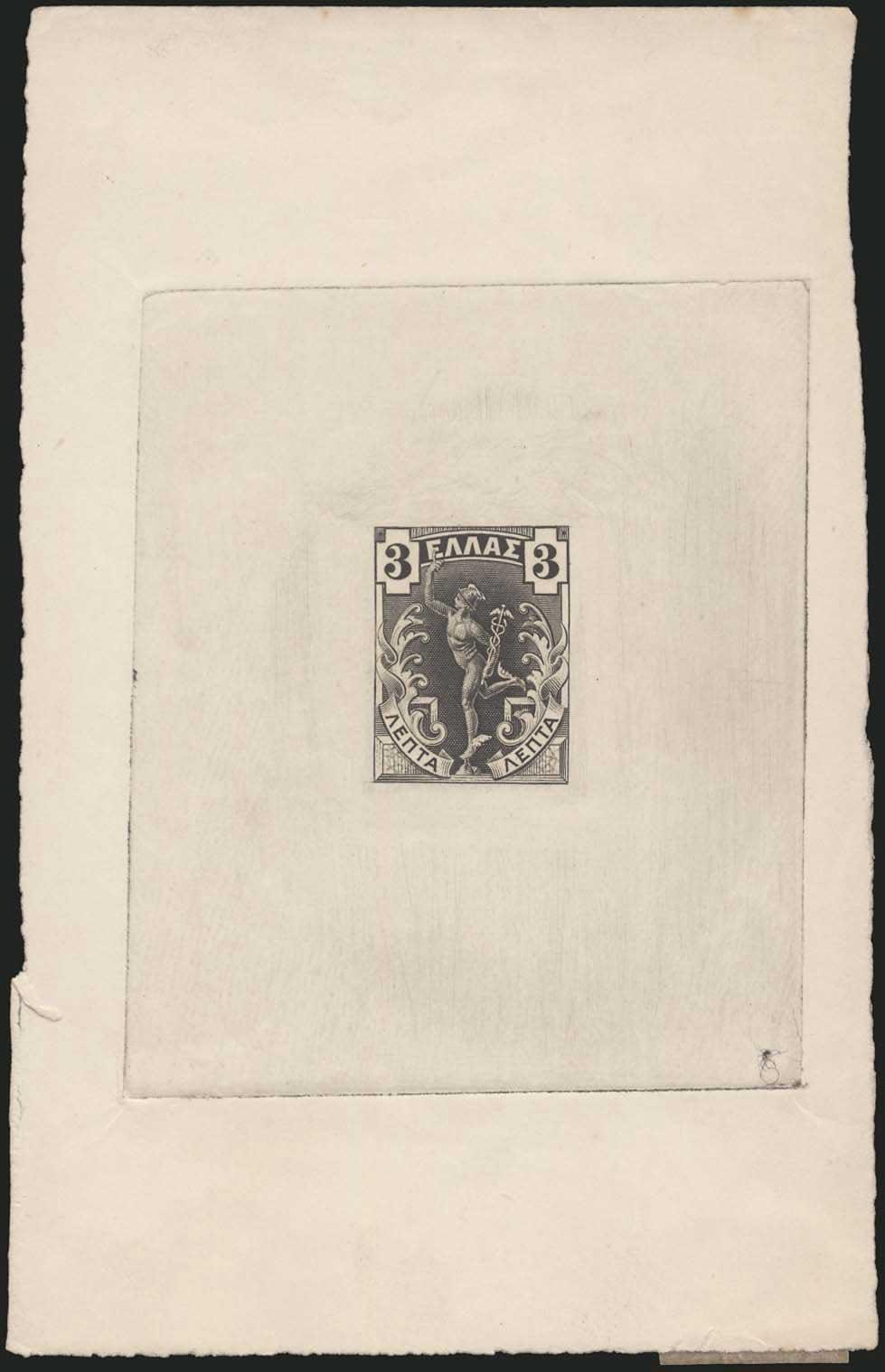 Lot 419 - -  1901/02 FLYING MERCURY & A.M. 1901/02 FLYING MERCURY & A.M. -  A. Karamitsos Public Auction 639 General Stamp Sale