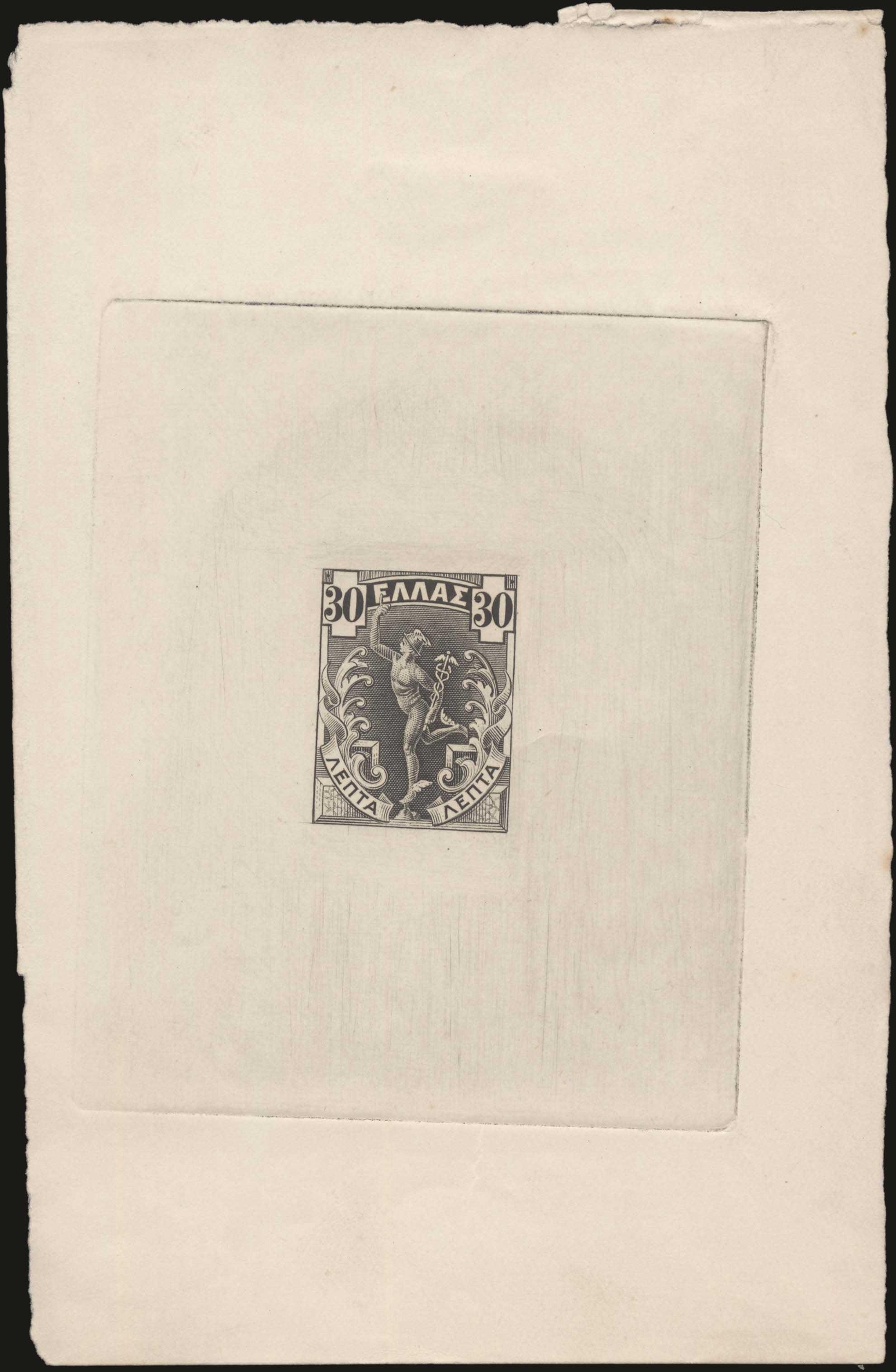 Lot 421 - -  1901/02 FLYING MERCURY & A.M. 1901/02 FLYING MERCURY & A.M. -  A. Karamitsos Public Auction 639 General Stamp Sale