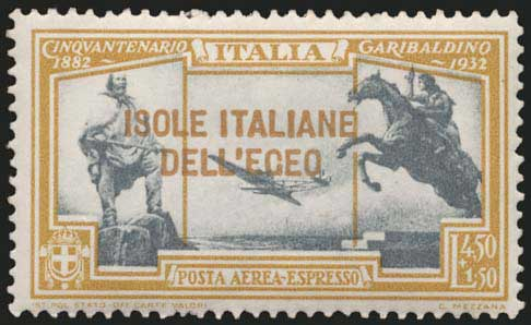 Lot 628 - -  DODECANESE italian dodecanese - italian post office issues -  A. Karamitsos Postal & Live Internet Auction 678 General Philatelic Auction
