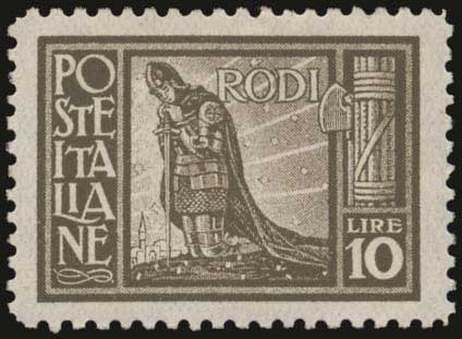 Lot 624 - -  DODECANESE italian dodecanese - italian post office issues -  A. Karamitsos Postal & Live Internet Auction 678 General Philatelic Auction