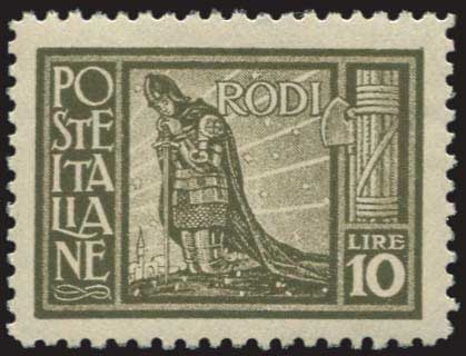 Lot 675 - Dodecanese italian dodecanese - italian post office issues -  A. Karamitsos Public & Live Internet Auction 672