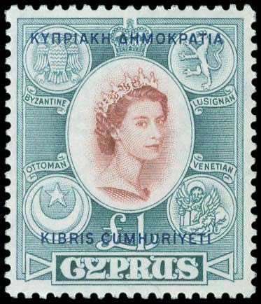 Lot 1002 - -  CYPRUS Cyprus -  A. Karamitsos Public Auction 646 General Stamp Sale