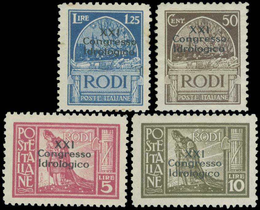 Lot 636 - -  DODECANESE italian dodecanese - italian post office issues -  A. Karamitsos Public & Live Internet Auction 683