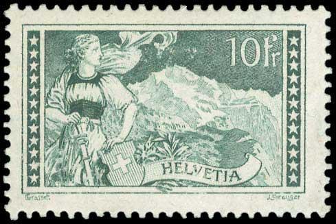 Lot 1128 - -  FOREIGN COUNTRIES Switzerland -  A. Karamitsos Public Auction 668 General Philatelic Auction
