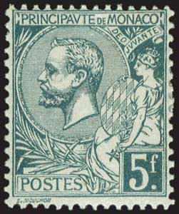 Lot 6537 - -  FOREIGN COUNTRIES Monaco -  A. Karamitsos Public & Live Bid Auction 642 (Part C)