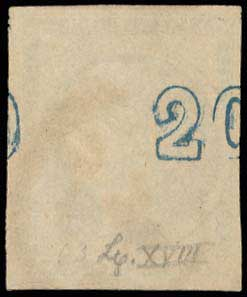 Lot 222 - -  LARGE HERMES HEAD 1875/80 cream paper -  A. Karamitsos Public Auction 635 General Stamp Sale