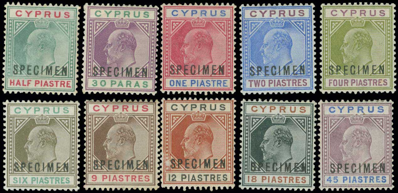 Lot 998 - -  CYPRUS Cyprus -  A. Karamitsos Public Auction 646 General Stamp Sale
