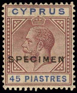 Lot 1288 - CYPRUS-  CYPRUS Cyprus -  A. Karamitsos Public Auction 602 General Stamp Sale
