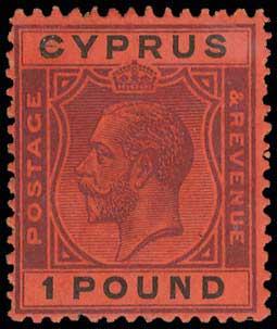 Lot 1836 - -  CYPRUS Cyprus -  A. Karamitsos Postal Auction 660 General Philatelic Auction