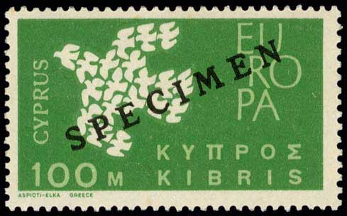Lot 1296 - CYPRUS-  CYPRUS Cyprus -  A. Karamitsos Public Auction 602 General Stamp Sale