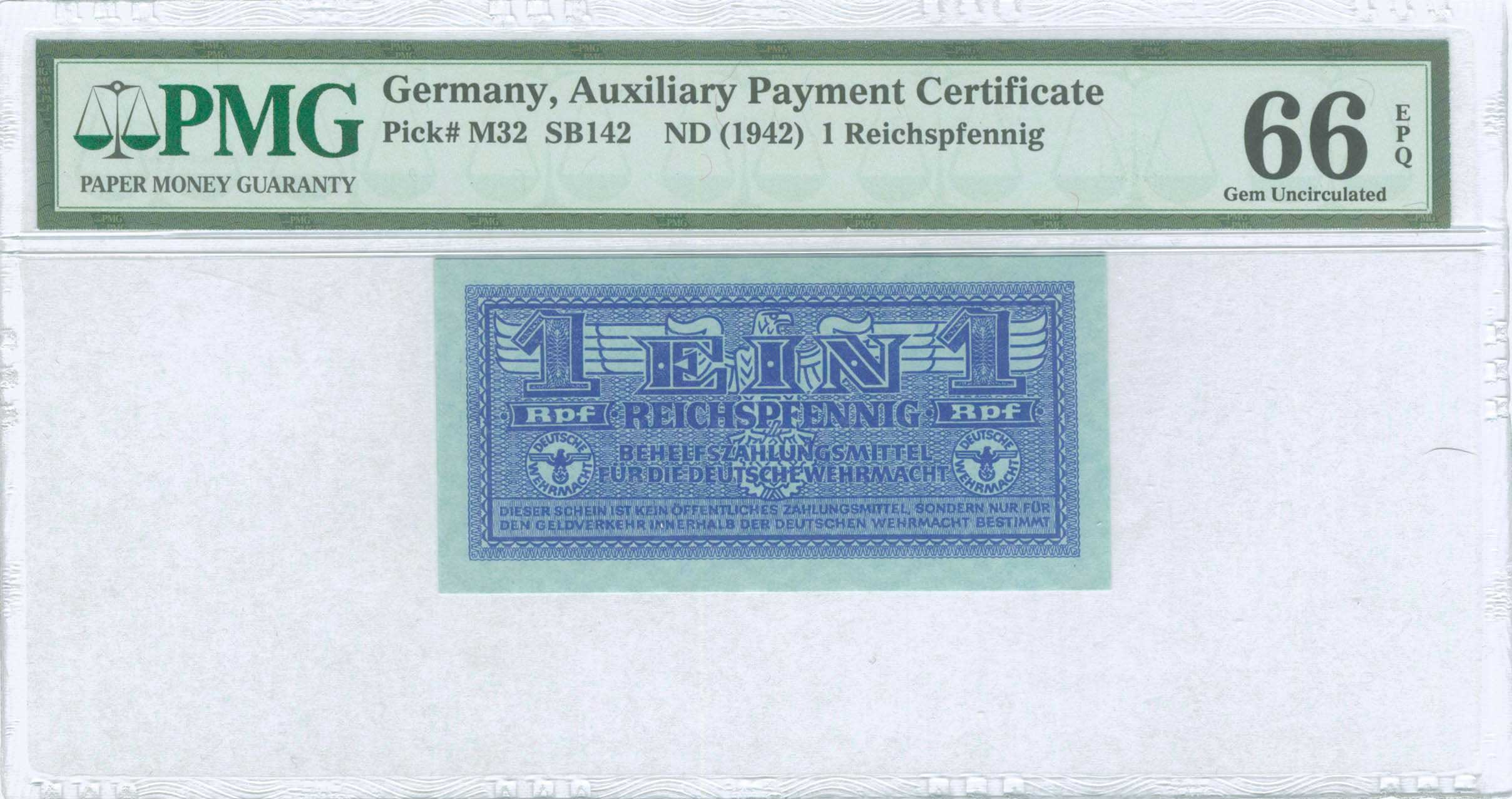 Lot 6560 - -  PAPER MONEY - BANKNOTES german occupation wwii -  A. Karamitsos Public Auction 655