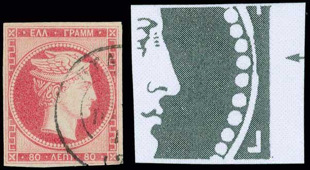 Lot 5024 - -  LARGE HERMES HEAD 1861 paris print -  A. Karamitsos Public & Live Bid Auction 642 (Part A)