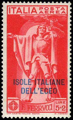 Lot 627 - -  DODECANESE italian dodecanese - italian post office issues -  A. Karamitsos Postal & Live Internet Auction 678 General Philatelic Auction