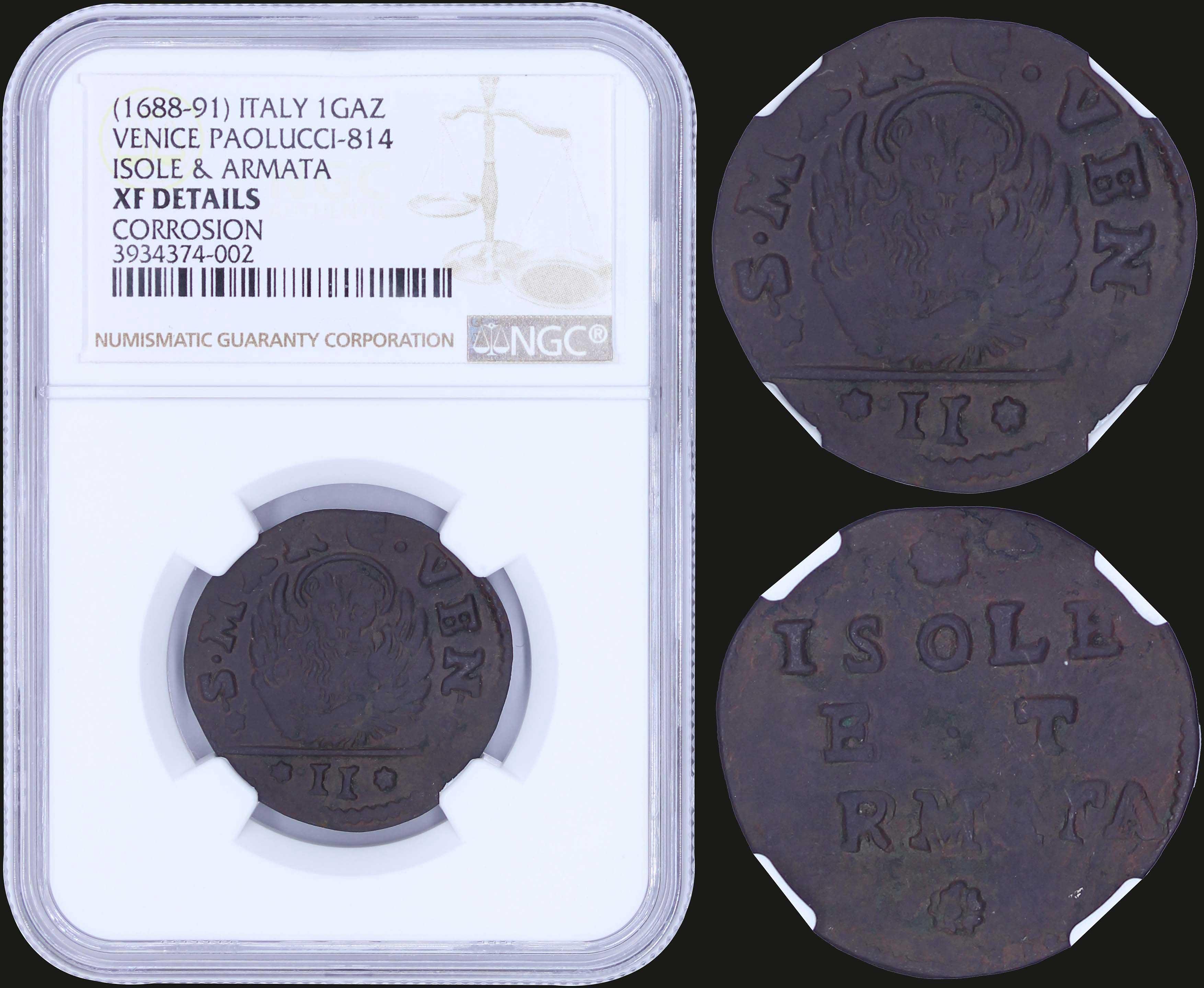 Lot 6983 - -  COINS & TOKENS COINS & TOKENS OF EUROPEAN COUNTRIES -  A. Karamitsos Public & Live Internet Auction 671 (Part B)