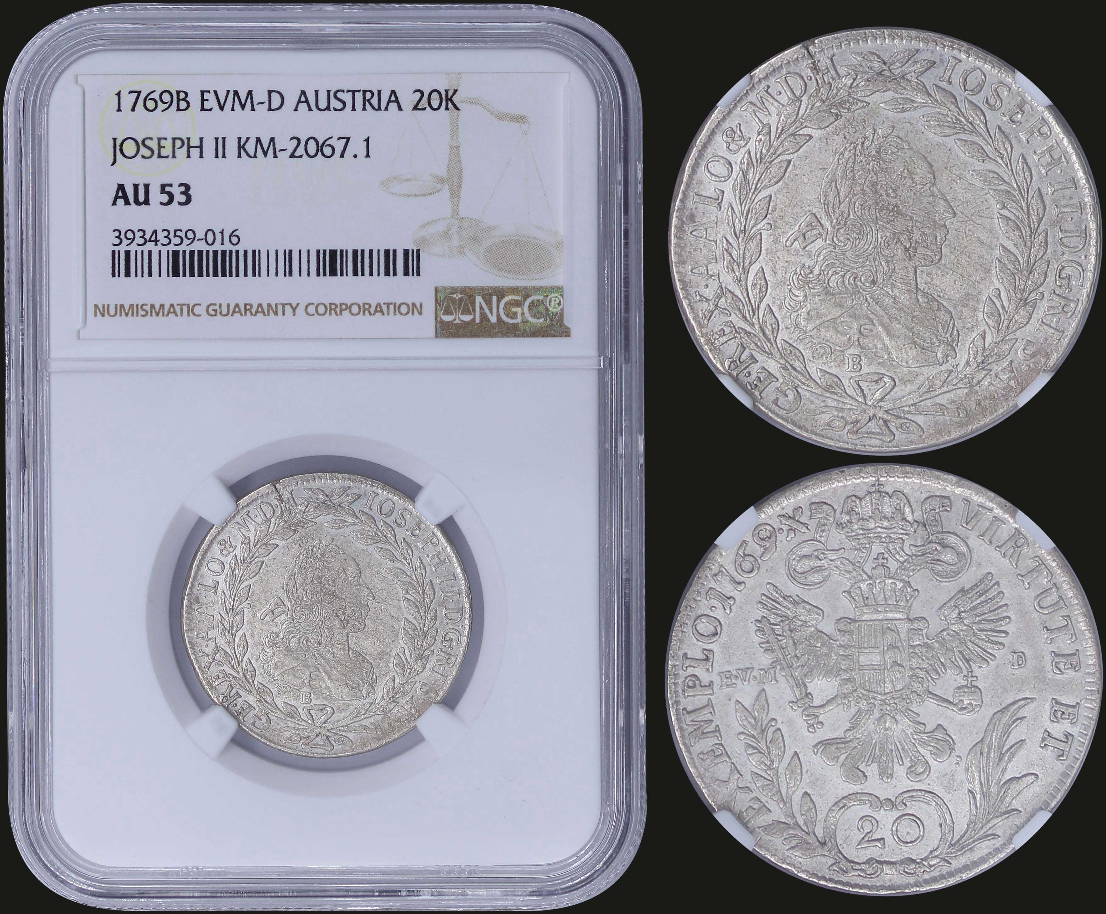 Lot 6785 - -  COINS & TOKENS COINS & TOKENS OF EUROPEAN COUNTRIES -  A. Karamitsos Postal & Live Internet Auction 984 (Part B)