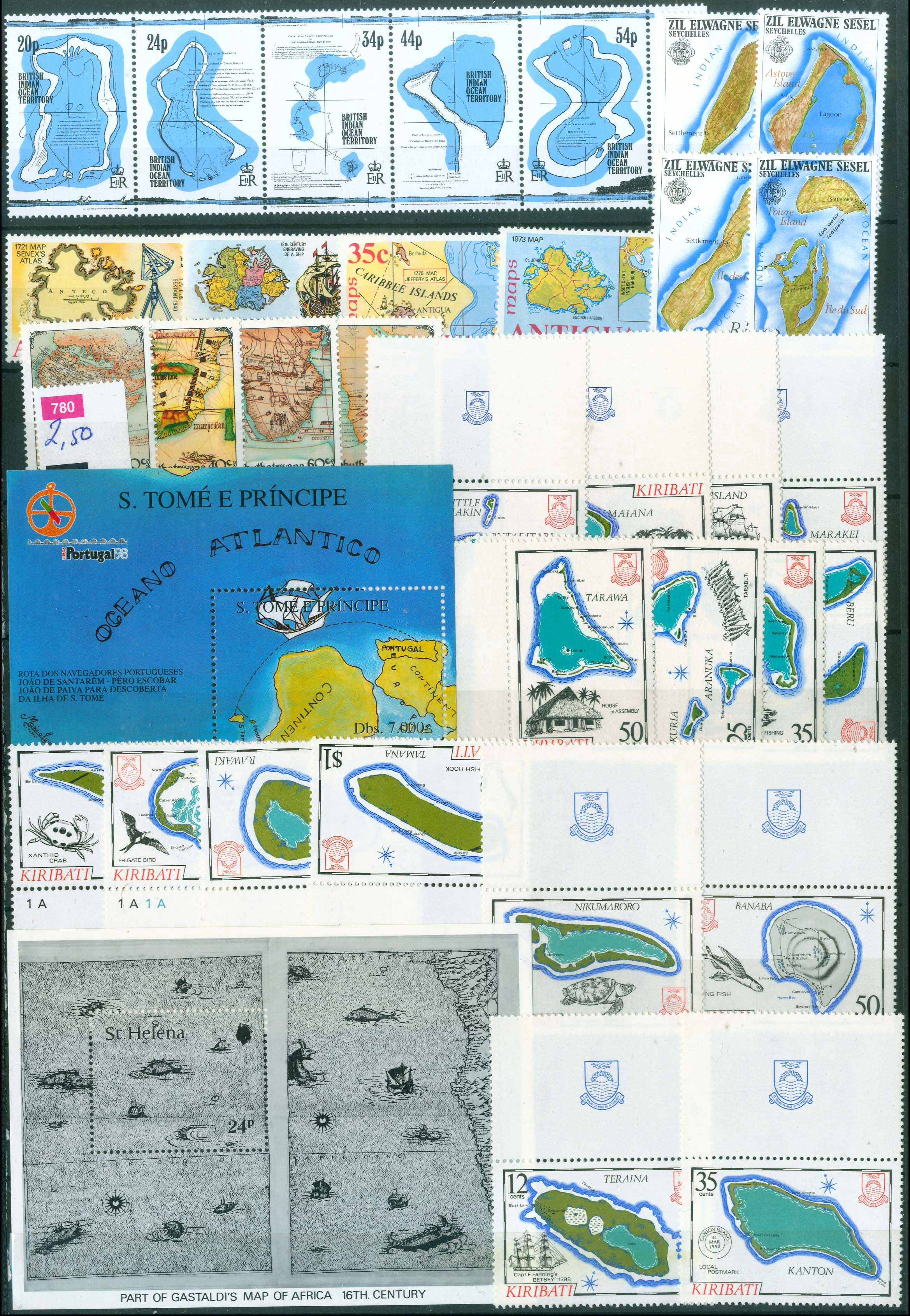 Lot 1327 - -  THEMATIC (TOPICAL) PHILATELY Thematic (topical) philately -  A. Karamitsos Public Auction 637 General Stamp Sale