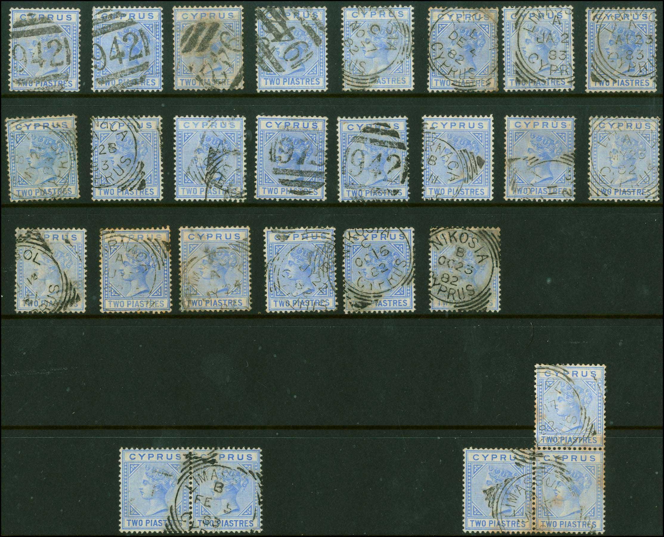 Lot 1341 - -  CYPRUS Cyprus -  A. Karamitsos Public Auction 637 General Stamp Sale