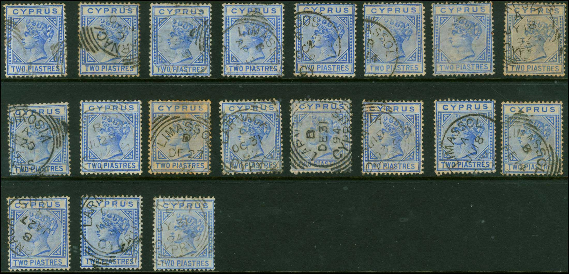 Lot 1358 - -  CYPRUS Cyprus -  A. Karamitsos Public Auction 637 General Stamp Sale
