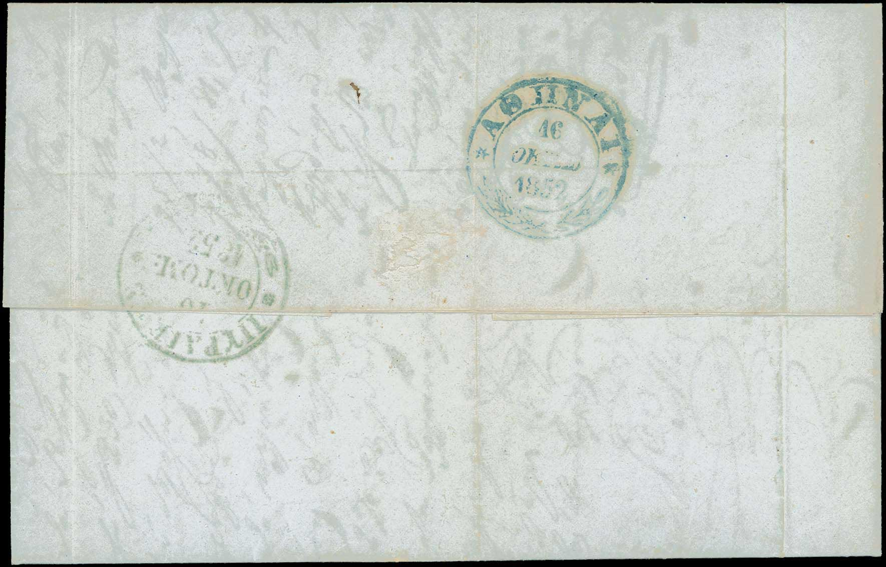 Lot 924 - -  POSTMARKS & CANCELLATIONS Pre-adhesive cancellations -  A. Karamitsos Public Auction 645 General Stamp Sale