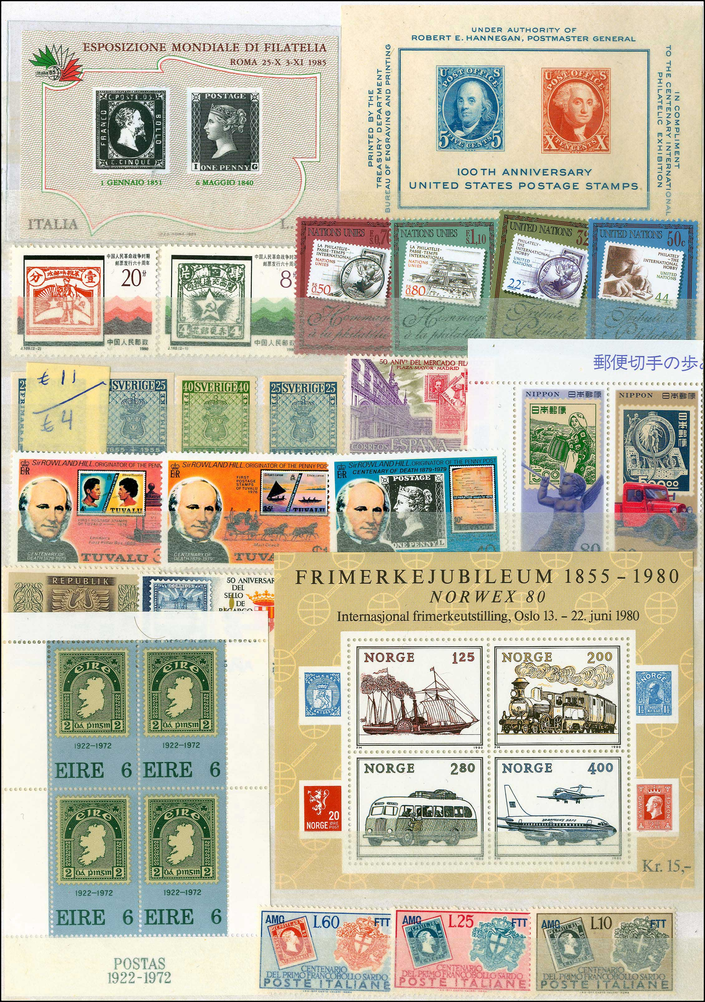 Lot 983 - -  THEMATIC (TOPICAL) PHILATELY Thematic (topical) philately -  A. Karamitsos Public Auction 668 General Philatelic Auction
