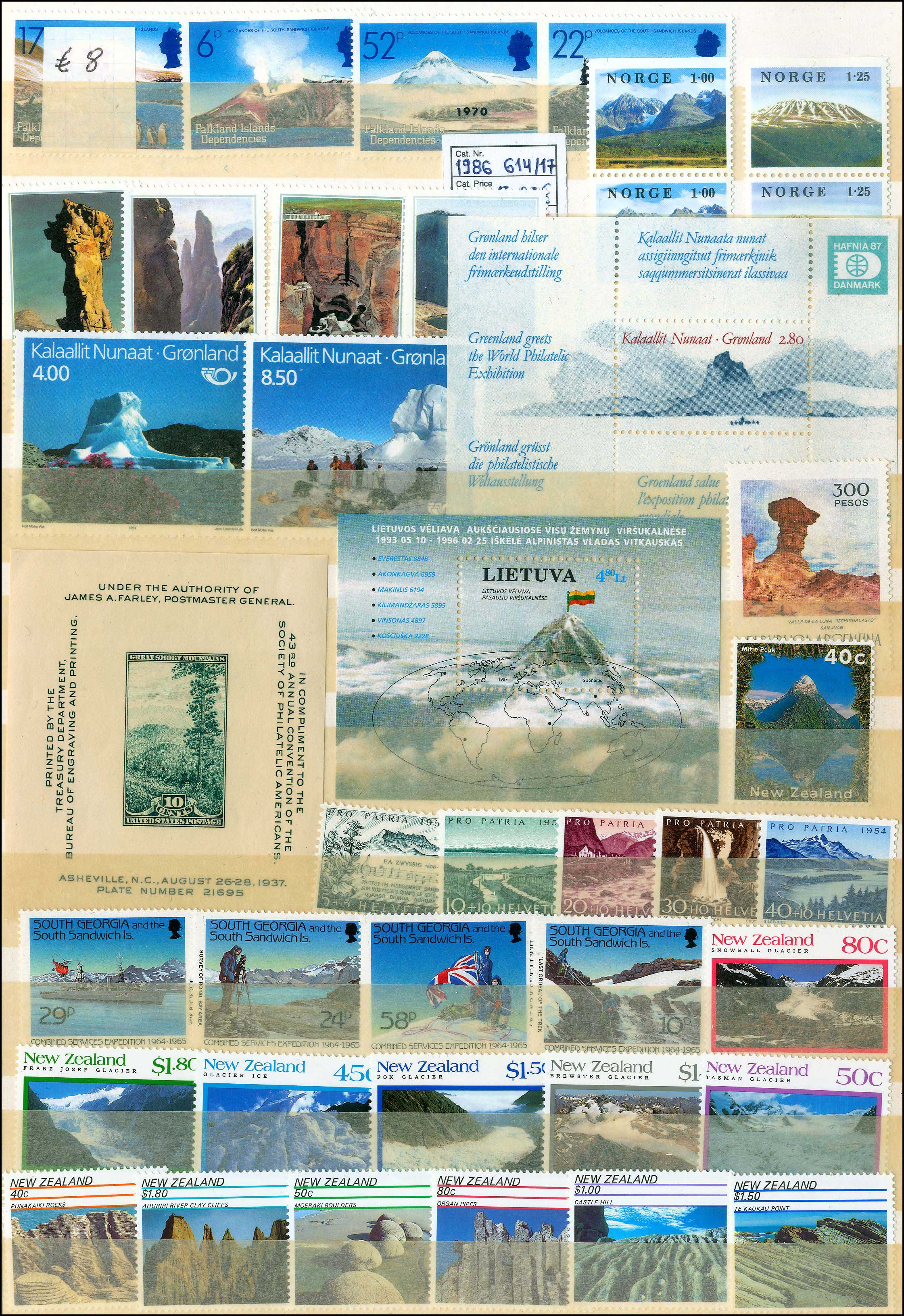 Lot 984 - -  THEMATIC (TOPICAL) PHILATELY Thematic (topical) philately -  A. Karamitsos Public Auction 668 General Philatelic Auction