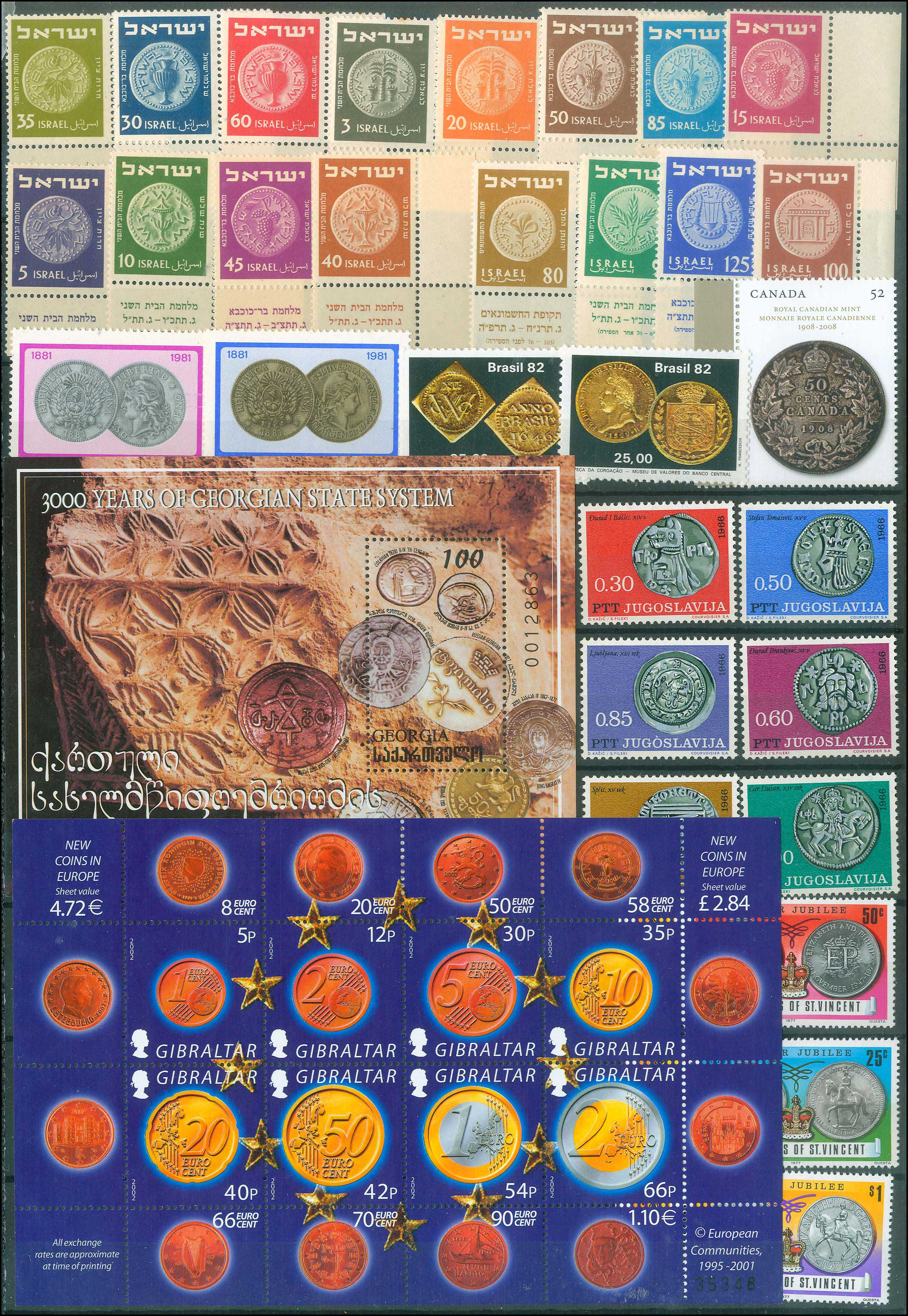 Lot 985 - -  THEMATIC (TOPICAL) PHILATELY Thematic (topical) philately -  A. Karamitsos Public Auction 668 General Philatelic Auction