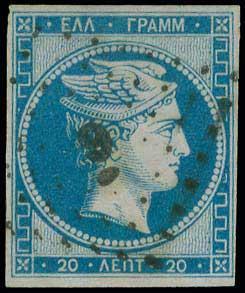 Lot 18 - -  LARGE HERMES HEAD 1861 paris print -  A. Karamitsos Public & Live Internet Auction 675