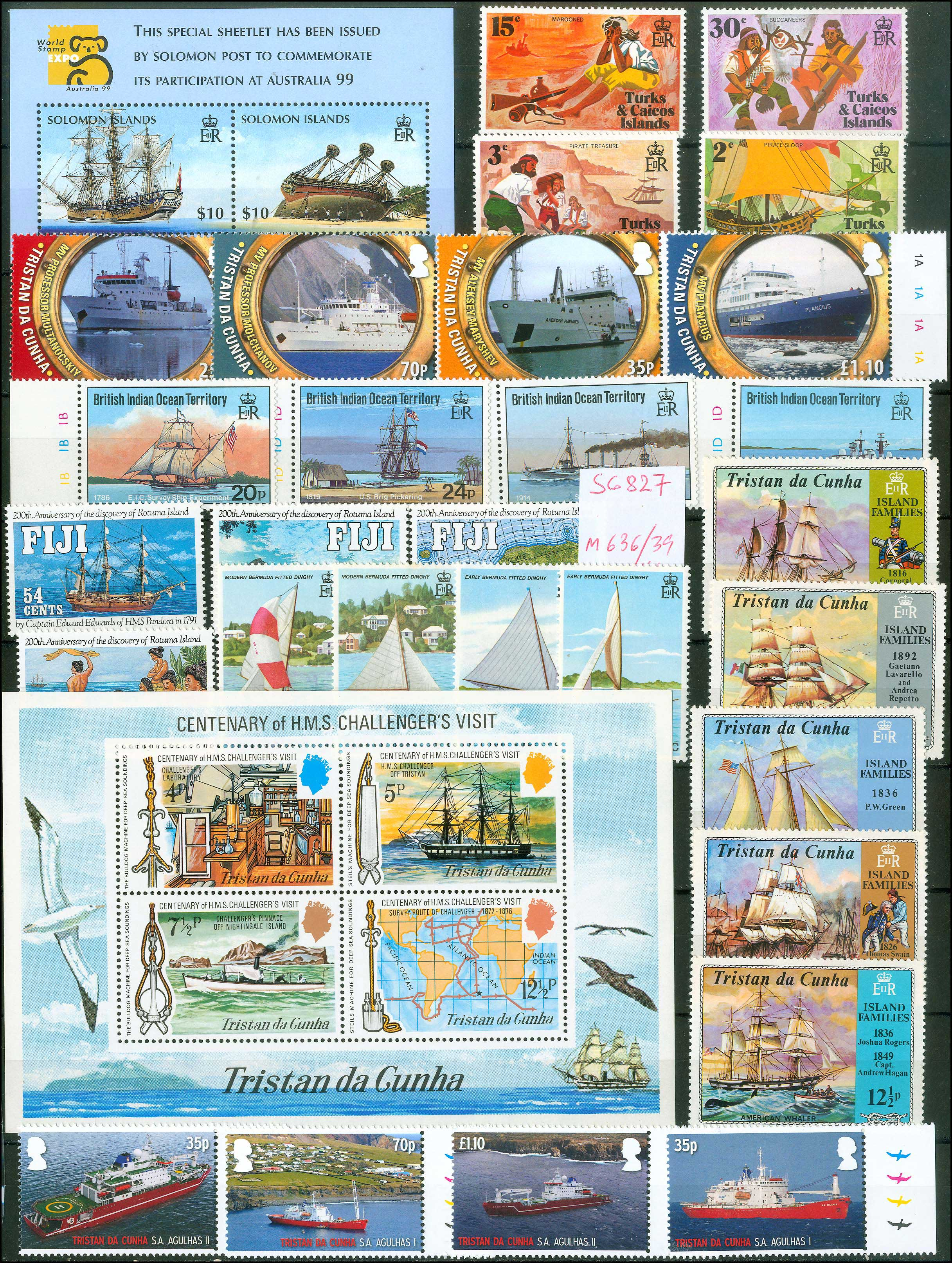 Lot 978 - -  THEMATIC (TOPICAL) PHILATELY Thematic (topical) philately -  A. Karamitsos Public Auction 668 General Philatelic Auction