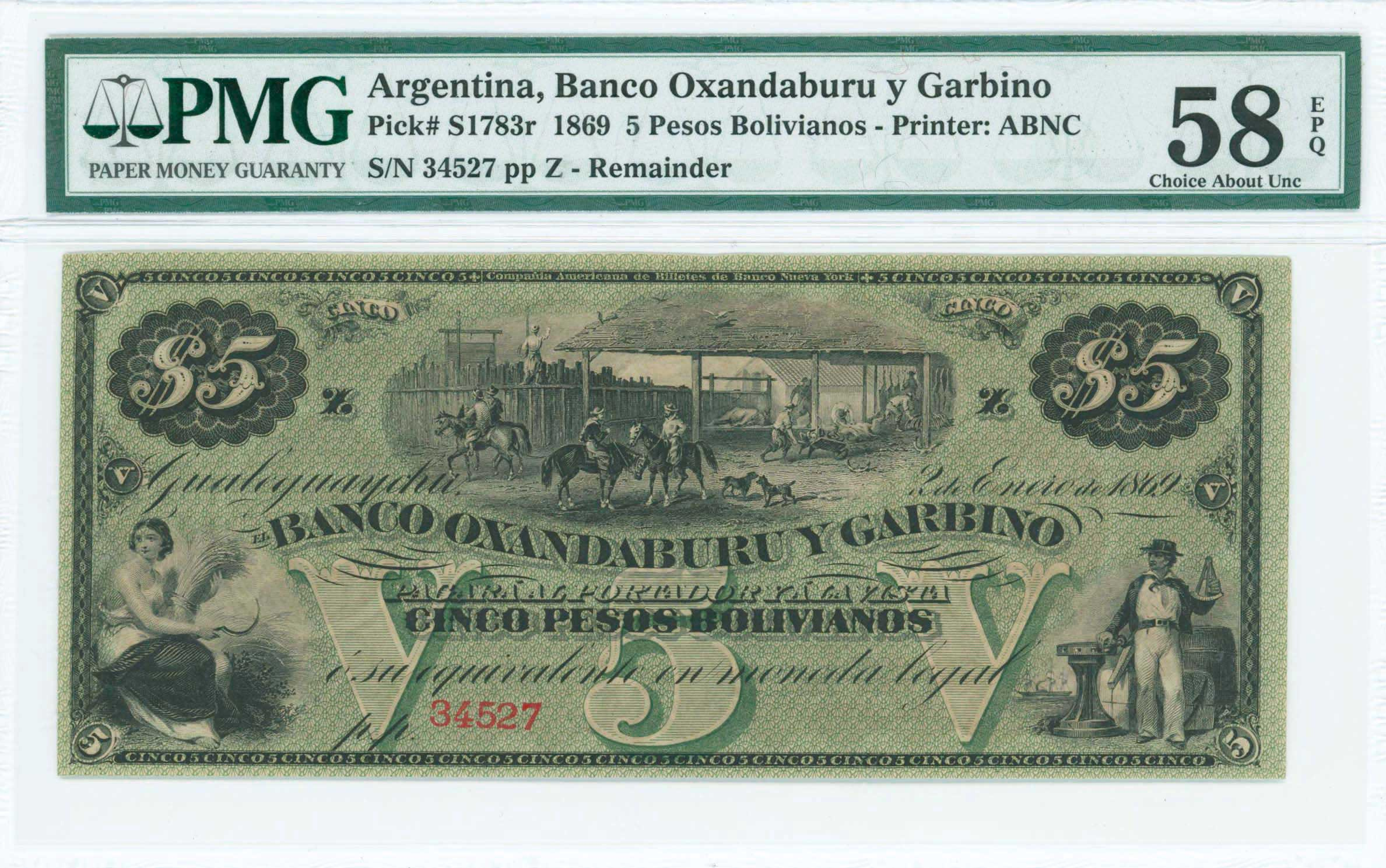 Lot 7408 - -  PAPER MONEY - BANKNOTES BANKNOTES OF AMERICAN COUNTRIES -  A. Karamitsos Public & Live Internet Auction 671 (Part B)