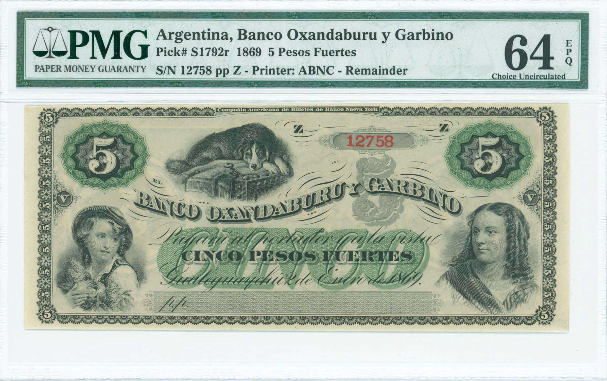 Lot 7409 - -  PAPER MONEY - BANKNOTES BANKNOTES OF AMERICAN COUNTRIES -  A. Karamitsos Public & Live Internet Auction 671 (Part B)