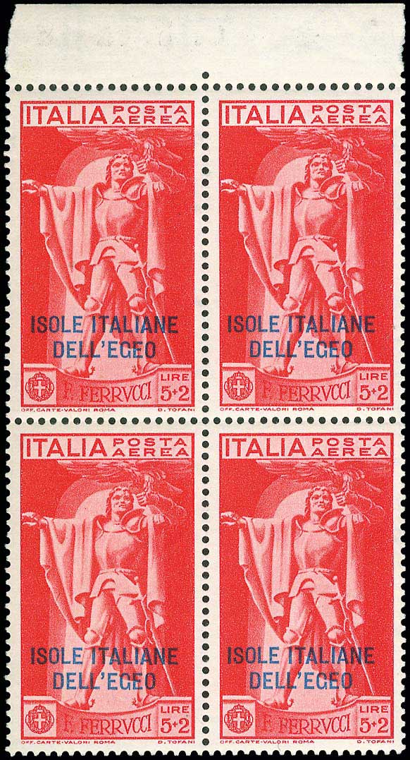 Lot 678 - Dodecanese italian dodecanese - italian post office issues -  A. Karamitsos Public & Live Internet Auction 672
