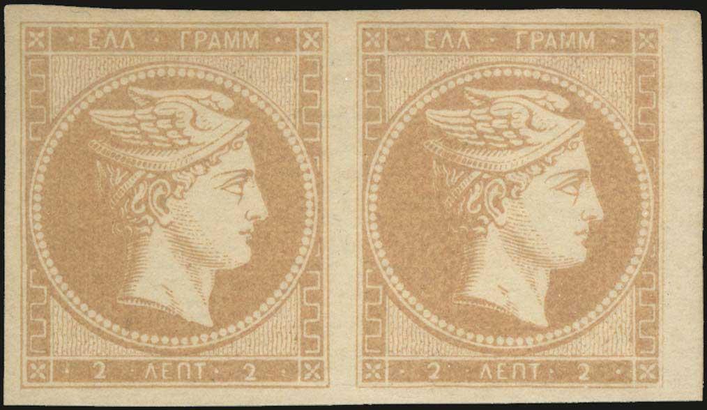Lot 11 - -  LARGE HERMES HEAD 1861 paris print -  A. Karamitsos Public & Live Internet Auction 675