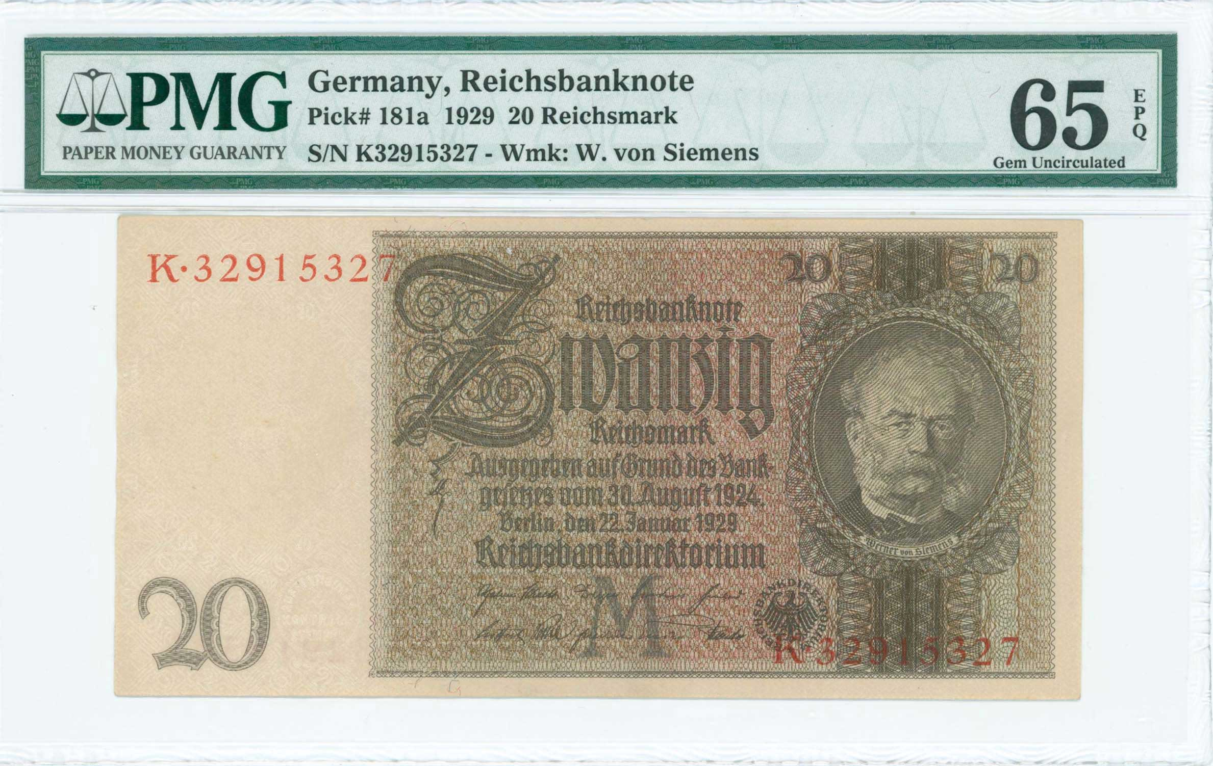 Lot 6997 - -  PAPER MONEY - BANKNOTES BANKNOTES OF EUROPEAN COUNTRIES -  A. Karamitsos Public & Live Internet Auction 682 (Part B) Coins, Medals & Banknotes